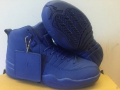Perfect Air Jordan 12 PSNY Blue 230