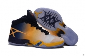 Air Jordan 30 Yellow Navy Blue