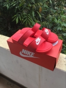 Nike Slipper Mens Red White