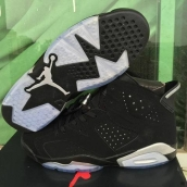 Air Jordan 6 AAA Black White