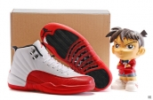 Air Jordan 12 AAA White Red Black