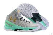 Ua Curry II Grey Mint Green Golden White