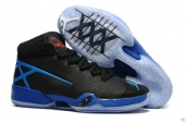 Air Jordan 30 Black Blue
