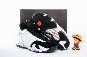 Perfect Air Jordan 14 White Black 190