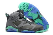 Air Jordan 6 Grey Blue Green