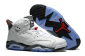 Air Jordan 6 White Grey