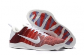 Nike Kobe 11 Low Weave Elite Red White