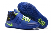 Nike Kyrie 2 Blue Fluorescent Green