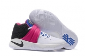 Nike Kyrie 2 Wallace White Black Pink Blue