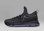 Nike Zoom KD 9 Low Black Blue