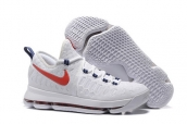 Nike Zoom KD 9 Low Independence Day White Red