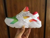 Nike Air Huarache 1 White Green Orange