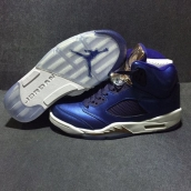 Perfect Air Jordan 5 Purple Bronze