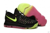 Nike Zoom KD 9 Low Black Fluorescent Green Pink