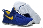 Nike Zoom KD 9 Low Blue Yellow
