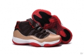 Air Jordan 11 AAA Black Golden Red White