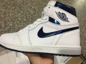 Air Jordan 1 Perfect White Blue