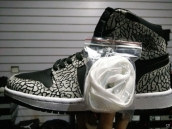 Air Jordan 1 Perfect Elephant print Grey Black White