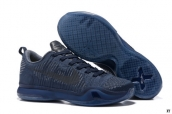 Nike Kobe X Low Weave Retire Navy Blue