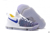 Nike Zoom KD 9 Low White Blue Purple