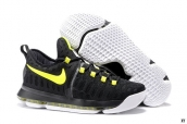 Nike Zoom KD 9 Low Black Fluorescent Green White
