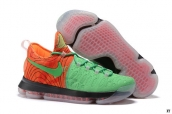 Nike Zoom KD 9 Low Green Orange Black