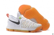 Nike Zoom KD 9 Low White Black Orange