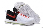 Nike Zoom KD 9 Low White Black Red