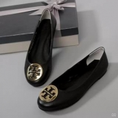 Tory Burch Flat Shoes Woman Black
