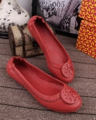 Tory Burch Flat Shoes Woman Red