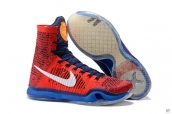 Nike Kobe X High USA Team Red Blue