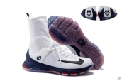 Nike Zoom KD 8 High Elite White Navy Blue Red Black