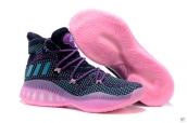 Adidas Crazy Explosive Weave Navy Blue Pink