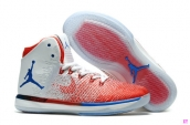 Perfect Air Jordan XXX1 White Red Blue