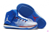 Perfect  Air Jordan XXX1 Blue White Red