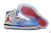 Perfect Air Jordan XXX1 White Blue Red