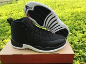 Air Jordan 12 AAA Black Nylon
