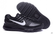 Air Max 2017 Women Leather Black White