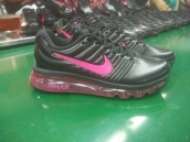 Air Max 2017 Women Leather Black Pink