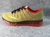 Air Max 2016 Women Golden Red Black