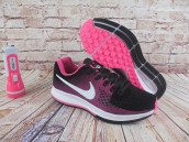 Nike Air Zoom Structure 20 Women Black Pink White
