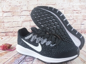 Nike Air Zoom Structure 20 Flyknit Black White