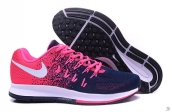 Nike Zoom Flyknit Lunar 33 Women Pink Navy Blue White
