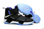 Nike Lebron Zoom Soldier 10 Kung Fu Dunk Black Blue White