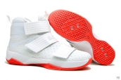 Nike Lebron Zoom Soldier 10 White Red