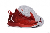 Air Jordan Super Fly 5 X Wine Red White