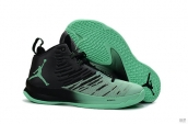Air Jordan Super Fly 5 X Black Green