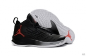Air Jordan Super Fly 5 X Black Red White