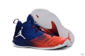 Air Jordan Super Fly 5 X Blue Orange White