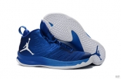 Air Jordan Super Fly 5 X Blue White